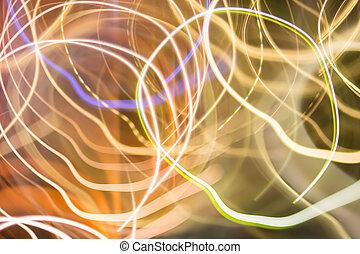 beweging onduidelijke plek, abstract