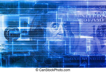 beweglich, bankwesen, digital