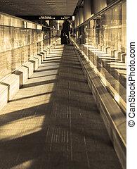 beweglicher sidewalk