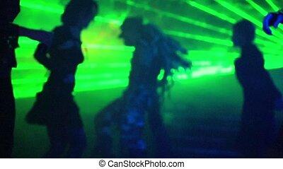 bewegung, langsames tanzen