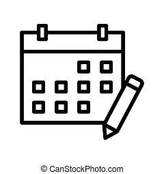 bewerken, kalender