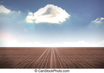 bewolkte hemel, achtergrond