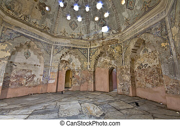 Bey hamam bath historic building at Thessaloniki city in...
