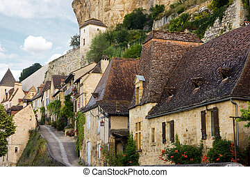 Beynac village in France