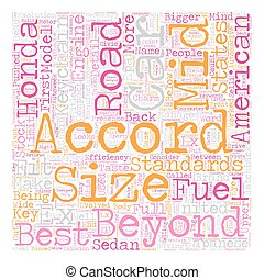 Beyond The Road text background wordcloud concept