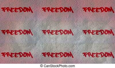 bezkresny, abstrakcyjny, video, wolność, prosperować