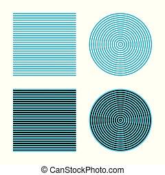 bezold, effet, illusion, optique