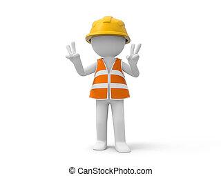 bezpečnost, dělník