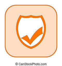bezpieczeństwo, ikona