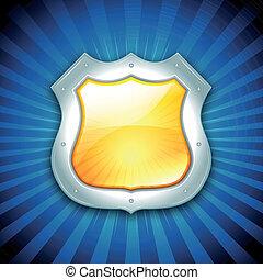 bezpieczeństwo, ochrona, tarcza, ikona