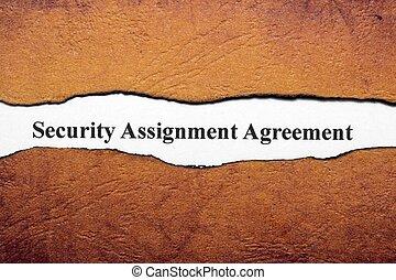 bezpieczeństwo, porozumienie
