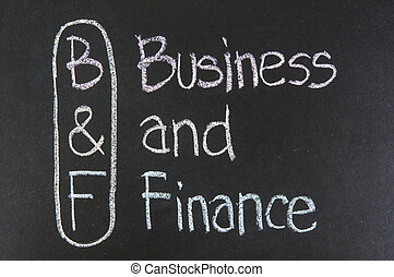 B&F acronym Business and Finance