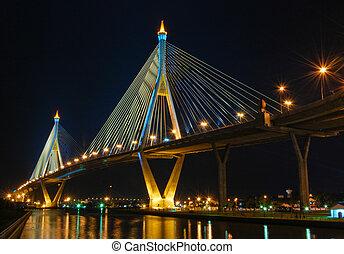 bhumibol, タイ, 橋