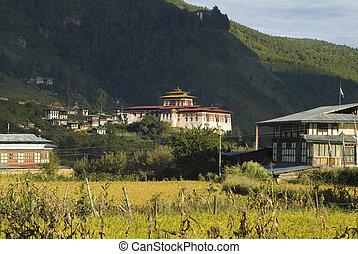 bhutan, paro