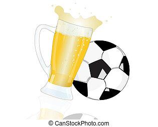bière, boule football