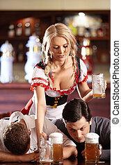 bière, restaurant