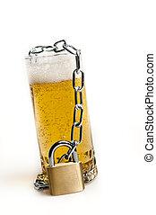 bière, verrouillé