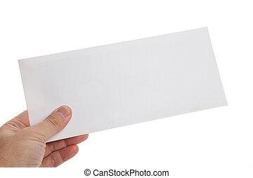 biała koperta
