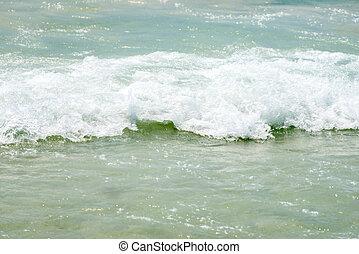 biała plaża, piasek