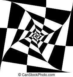 biało-czarny, abstrakcyjny, tło