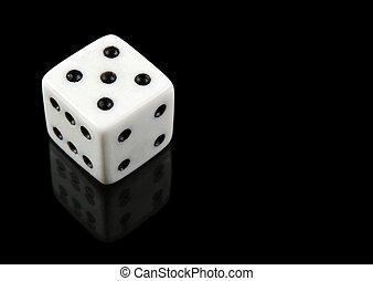 biały, czarnoskóry, jarzyna pokrajana w kostkę, tło