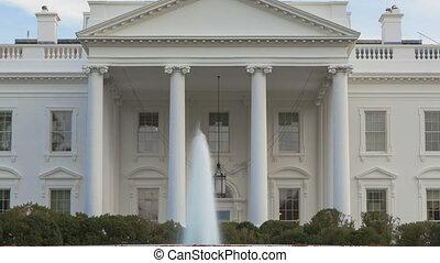 biały dom, timelapse