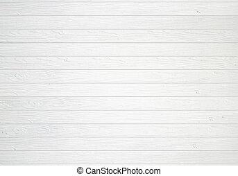 biały, drewniana ściana, struktura, tło