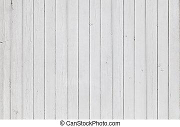 biały, drewno, tło