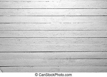 biały, drewno, zwietrzały