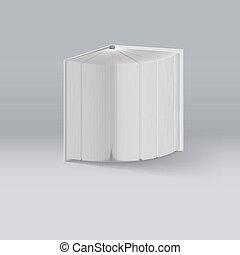 biały, książka