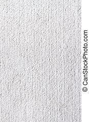 biały, struktura, dywan