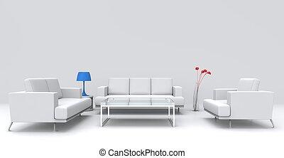 bianco, 2, stanza