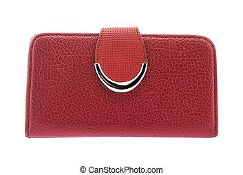 bianco, borsellino, sfondo rosso