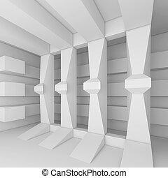 bianco, costruzione, astratto