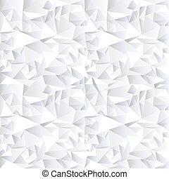 bianco, cristallo, astratto, fondo