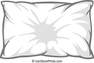 bianco, cuscino