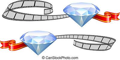 bianco, diamante, premi, film