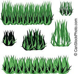 bianco, erba, fondo