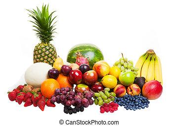 bianco, frutta