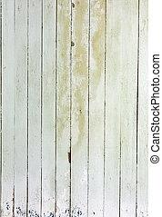 bianco, legno, alterato