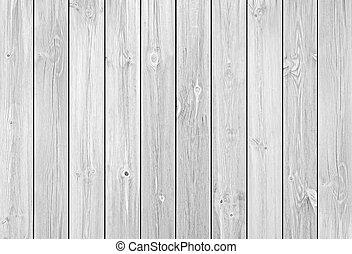 bianco, legno, assi, fondo