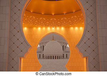 bianco, moschea