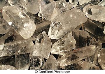 bianco, rock-crystal, fondo