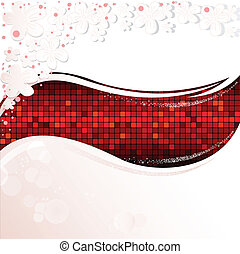 bianco rosso, onda