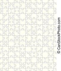 bianco, seamless, puzzle