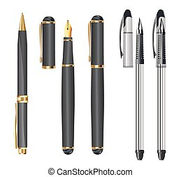 bianco, set, penne