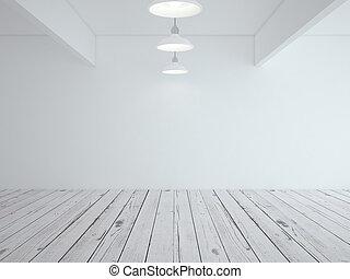 bianco, soffitta