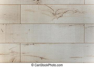 bianco, tessuto legno, con, modelli naturali, fondo
