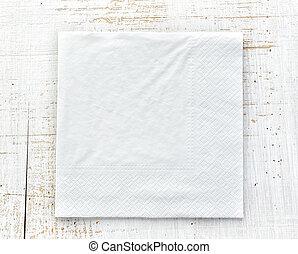 bianco, tovagliolo carta