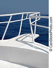 bianco, yacht
